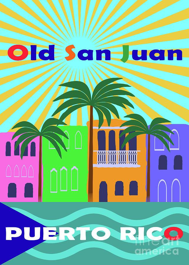 Old San Juan Puerto Rico by Zaira Dzhaubaeva