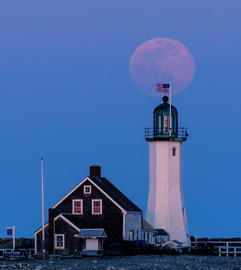 Old Scituate Light by Rob Davies