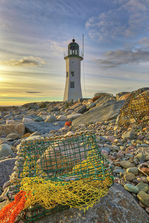 Old Scituate Lighthouse by Juergen Roth