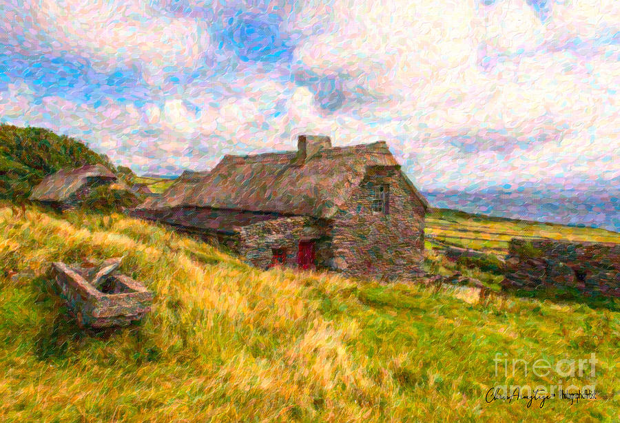 Old Scottish Farmhouse by Chris Armytage