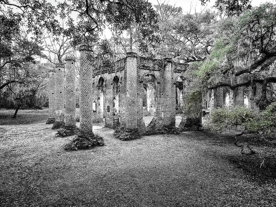 Old Sheldon Ruins by Scott Hansen