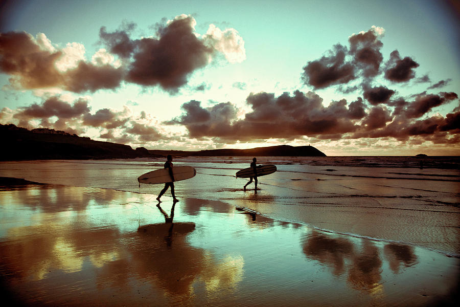 Old Skool Surf Photograph by Landscapes, Seascapes, Jewellery & Action Photographer