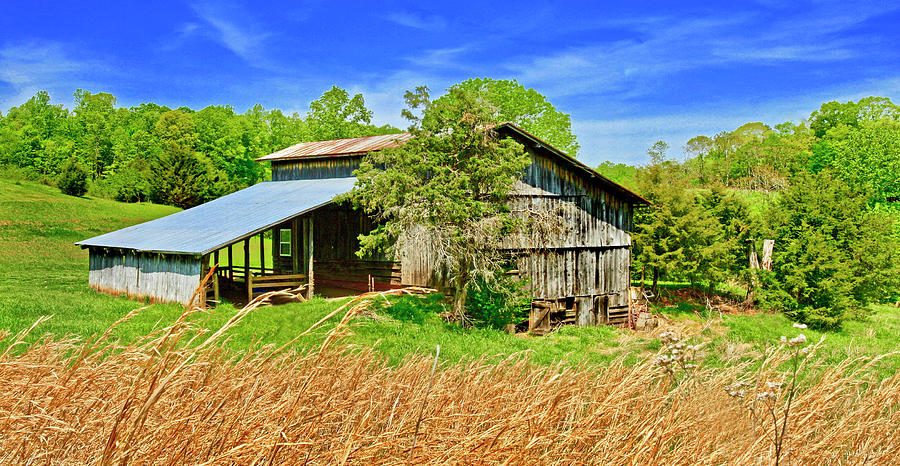Old Smith Mountain Lake Barn - Extra Wide by James Roney