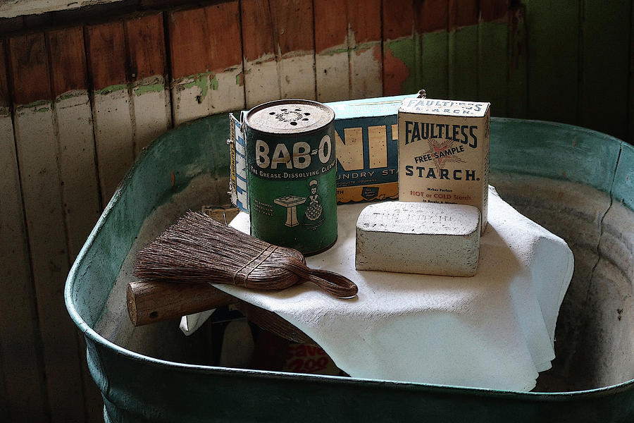 Old Soaps and Tub by Robert Blandy Jr