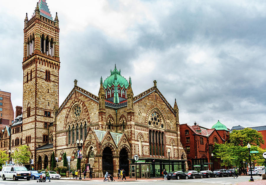 Old South Church Boston by Sharon Popek