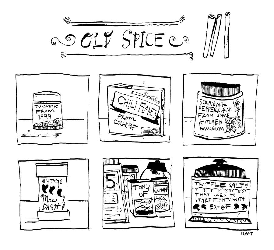 Old Spice Drawing by Sara Lautman