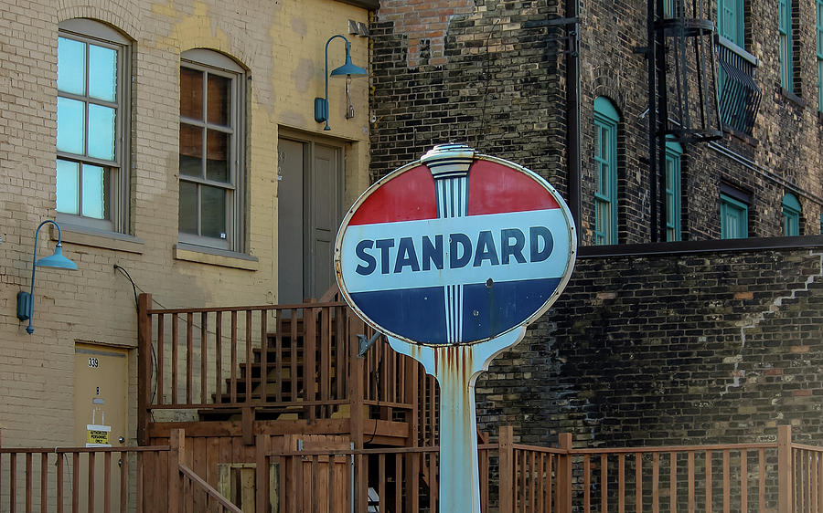 Sign Photograph - Old Standard by Laura Smith