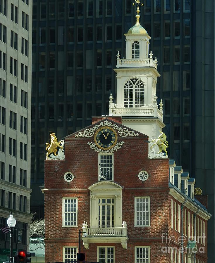 Old State House by Marcia Lee Jones