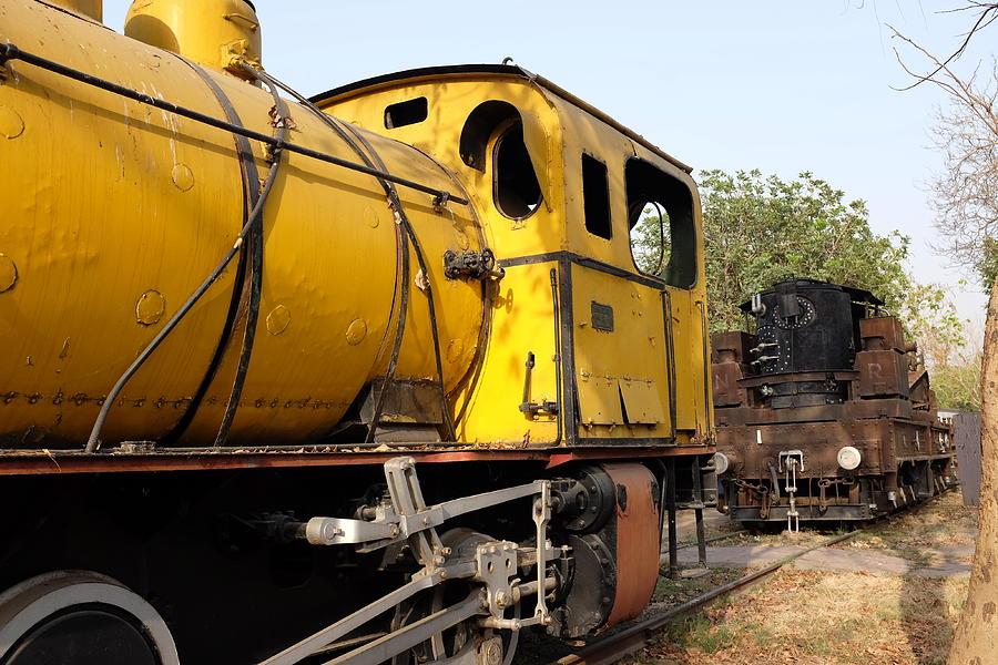 Old Steam Engine Train Photograph by Mikhail Vorobiev