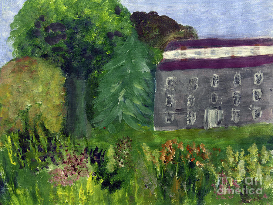 Old Stone House Garden by Donna Walsh