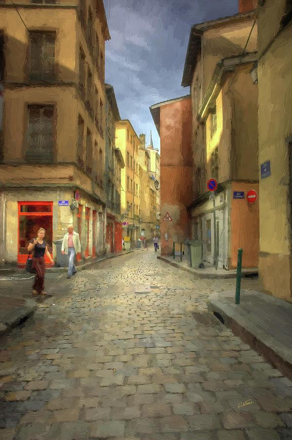 Old Street Lyon France by Dean Wittle