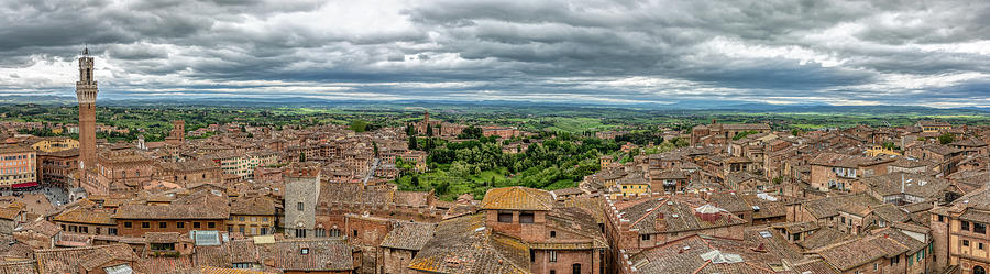 Old Town Siena by David Letts