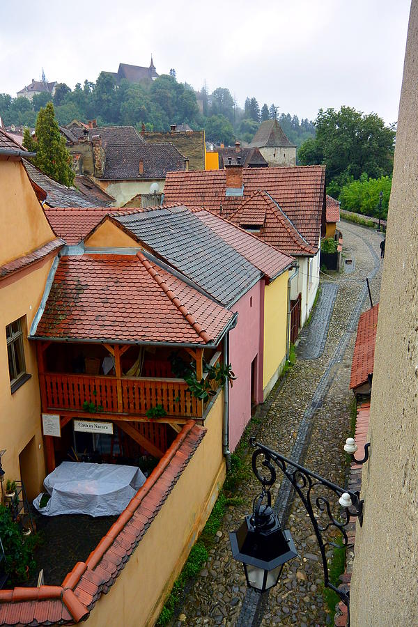 Sighisoara Photograph - Old Town Sighisoara by Two Small Potatoes