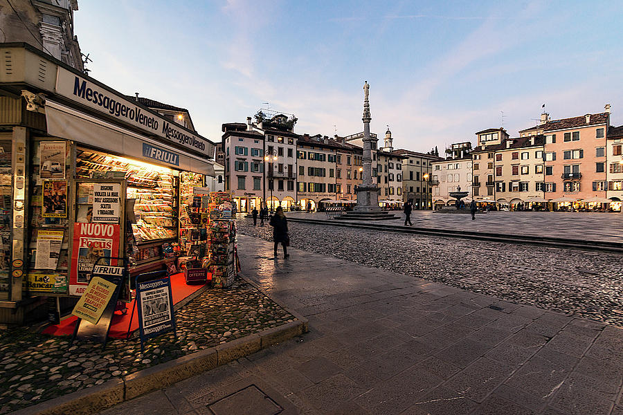 Old Town Udine by Wolfgang Stocker