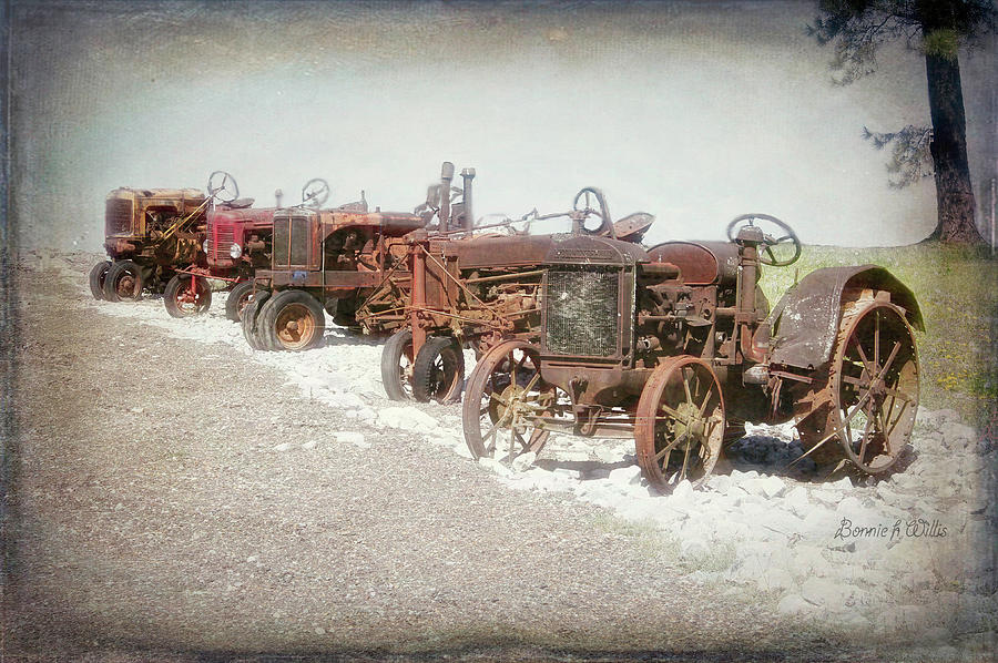 Old Tractors by Bonnie Willis