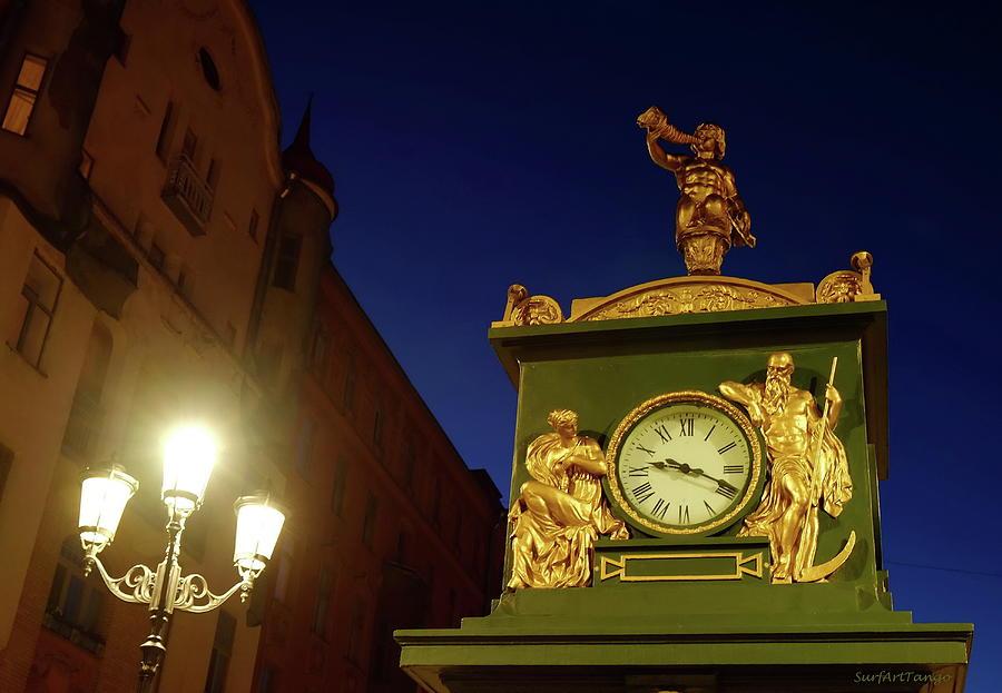 Old weather station. Details. Saint Petersburg. by SurfArtTango Marina Lisovaya