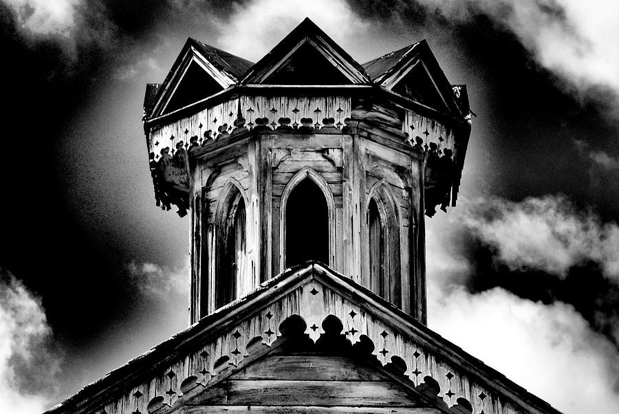 Old Weathered Barn Cupola in bw by Paul W Faust - Impressions of Light
