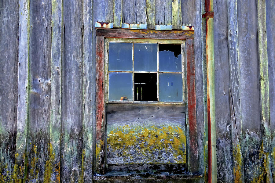 Semiahmoo Photograph - Old Window to an Old Soul by Rick Lawler