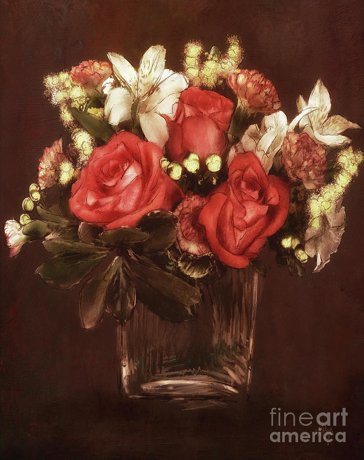 Old World Bouquet by Lois Bryan