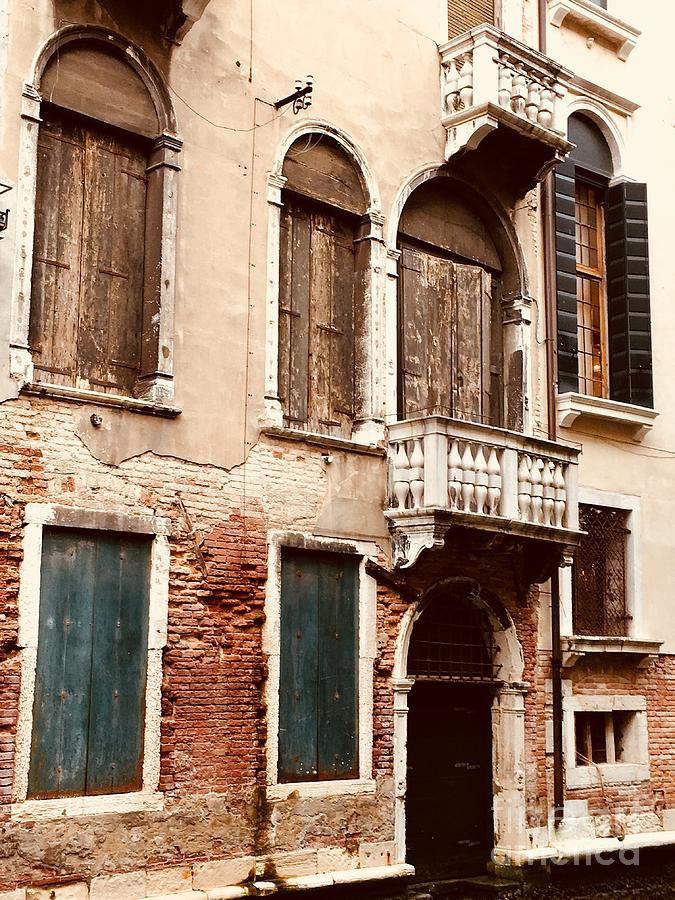 Old World Windows by Christine Chin-Fook