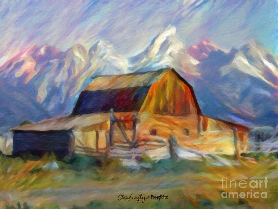 Old Wyoming Barn by Chris Armytage