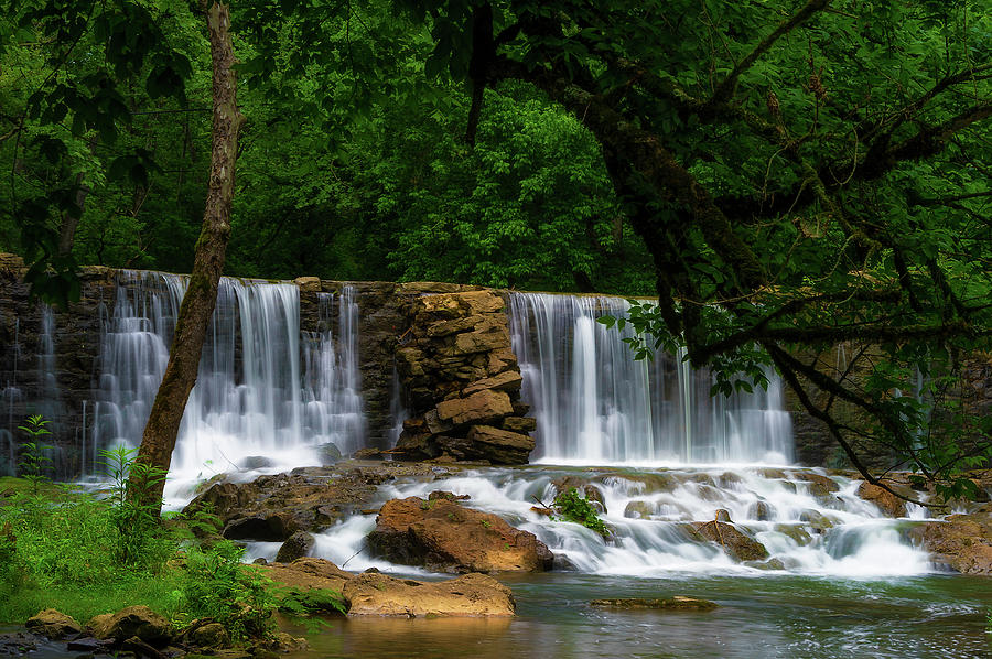 Oldest  Dam in Tennesse on Big Creek by Dee Browning