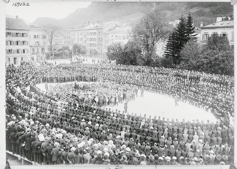 Oldest Form Of Democracy Photograph by Bettmann