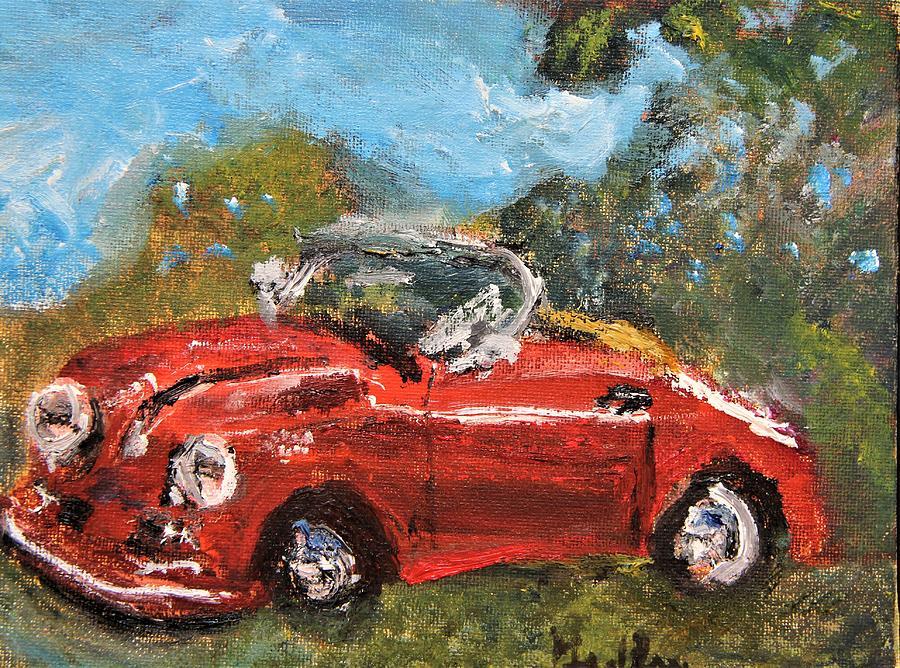 Oldie and Goodie 356 Porsche by Michael Helfen