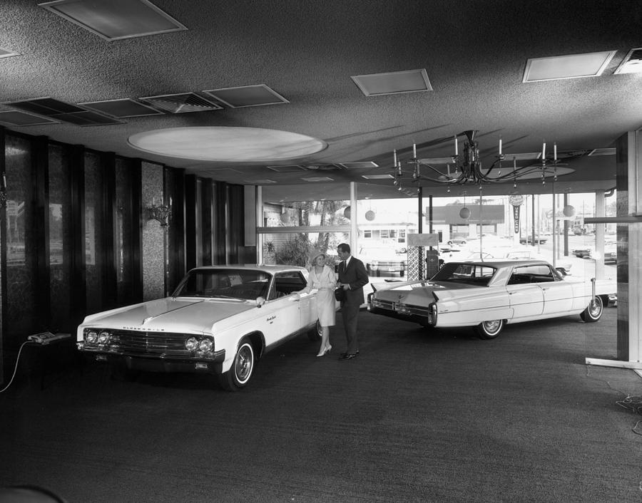 Oldsmobile 98 Photograph by Tom Kelley Archive