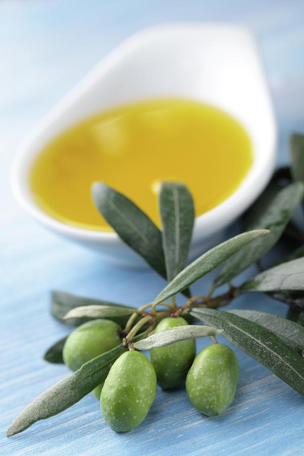 Olive Oil Photograph by Lilyana Vinogradova