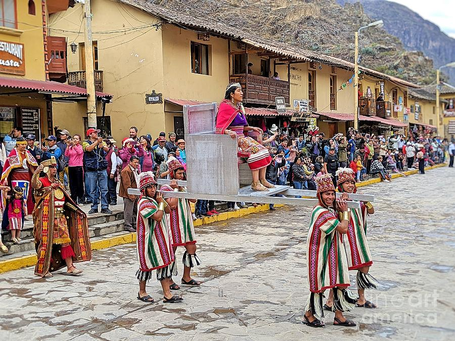 Ollanta Raymi Parade 1 by Julie Pacheco-Toye