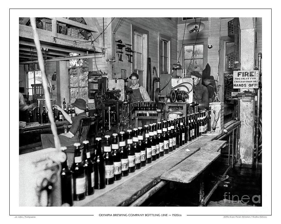 OLYMPIA BREWING COMPANY BOTTLING LINE, 1920ca by Joe Jeffers