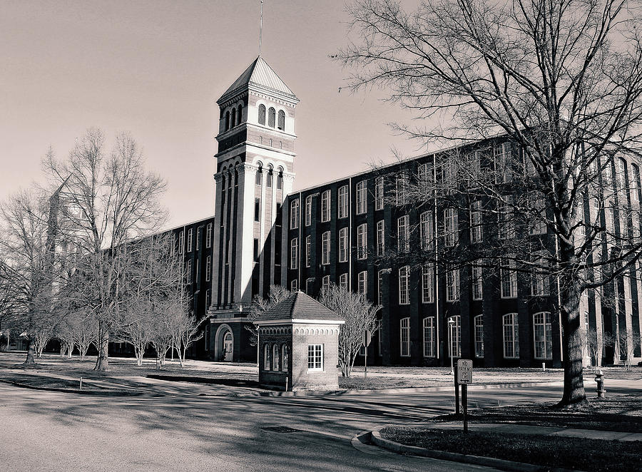 Olympia Mills In Columbia B W 1 Photograph