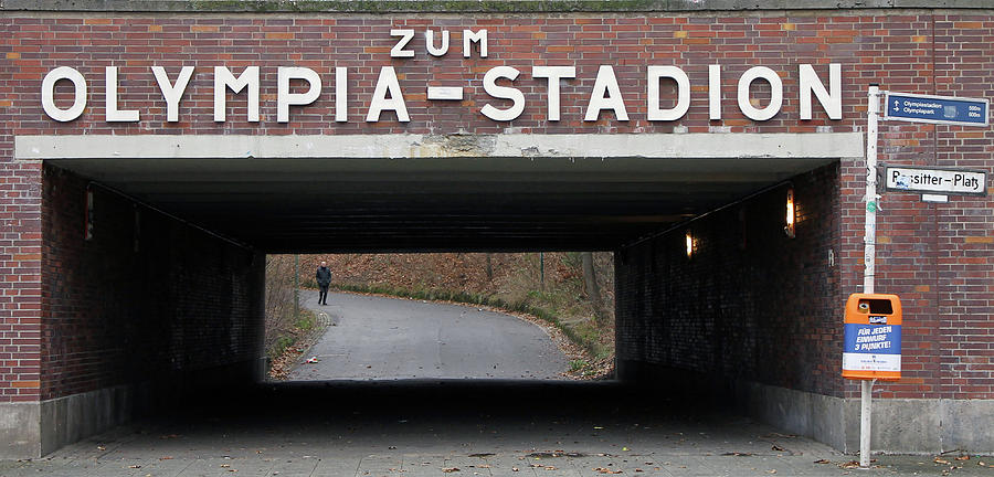 Olympia Stadion Underpass by Jonathan Thompson