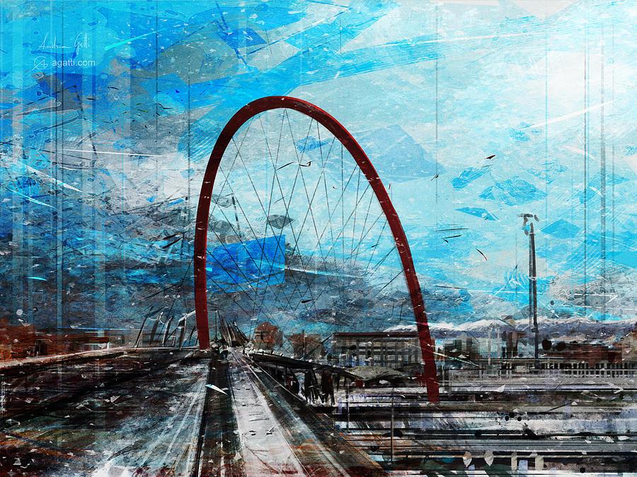 Olympic Arch Digital Art