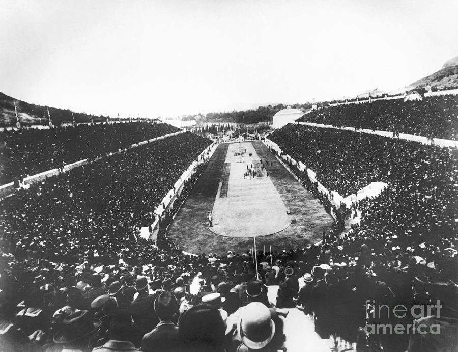 Olympic Games In 1896 Photograph by Bettmann