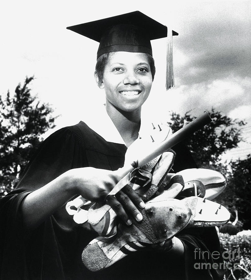 Olympic Gold Medal Winner Wilma Rudolph Photograph by Bettmann
