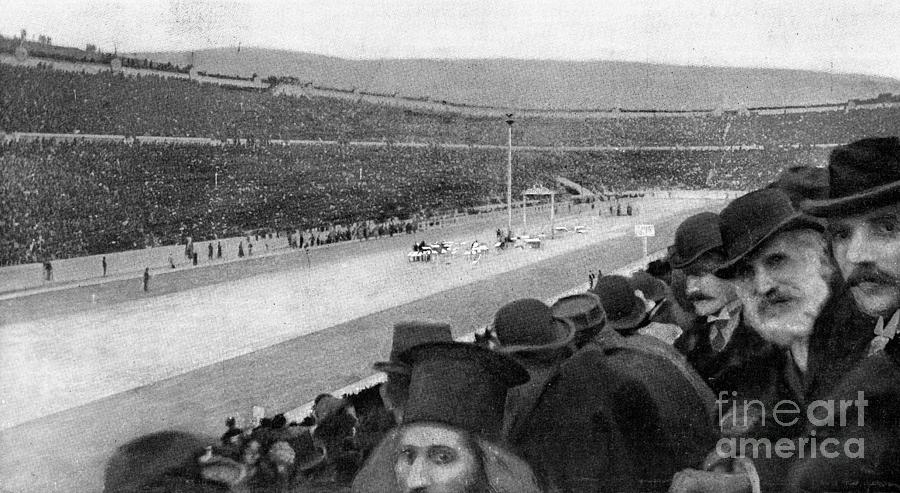Olympic Stadium In Athens Photograph by Bettmann