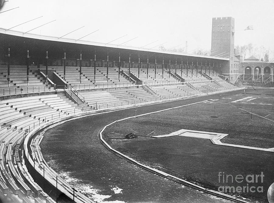 Olympic Stadium In Sweden Photograph by Bettmann
