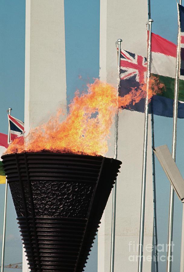 Olympic Torch Photograph by Bettmann