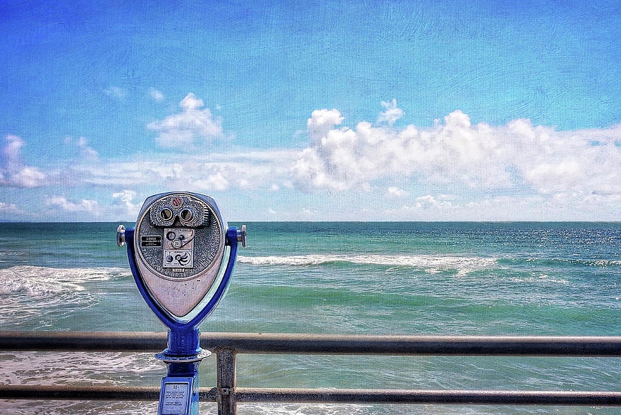 Binoculars Photograph - On A Clear Day You Can See Forever by Ann Patterson