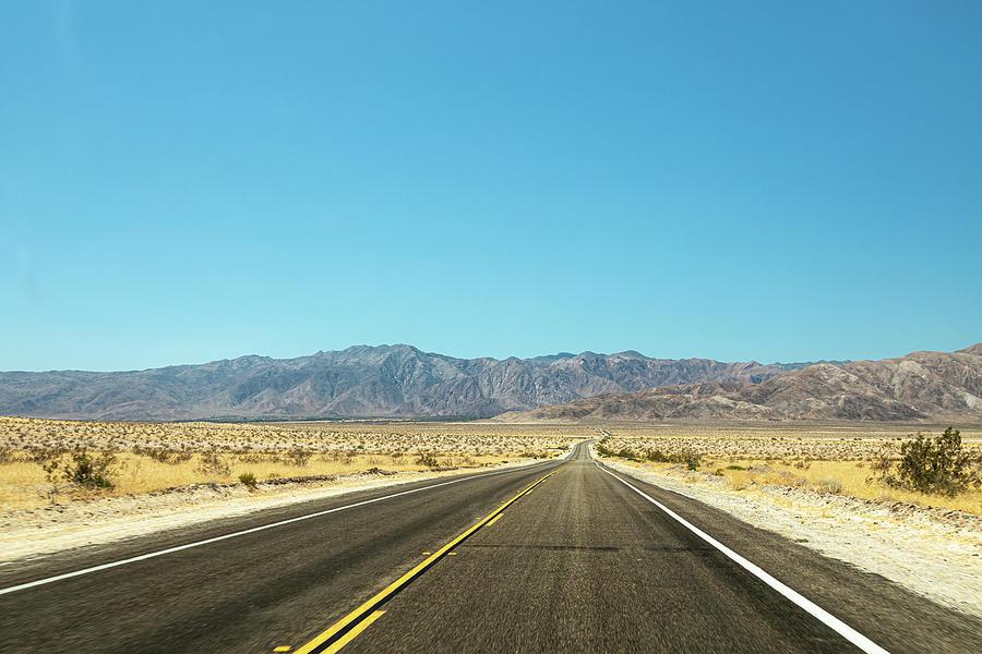 On a Dark Desert Highway  I by Peter Tellone