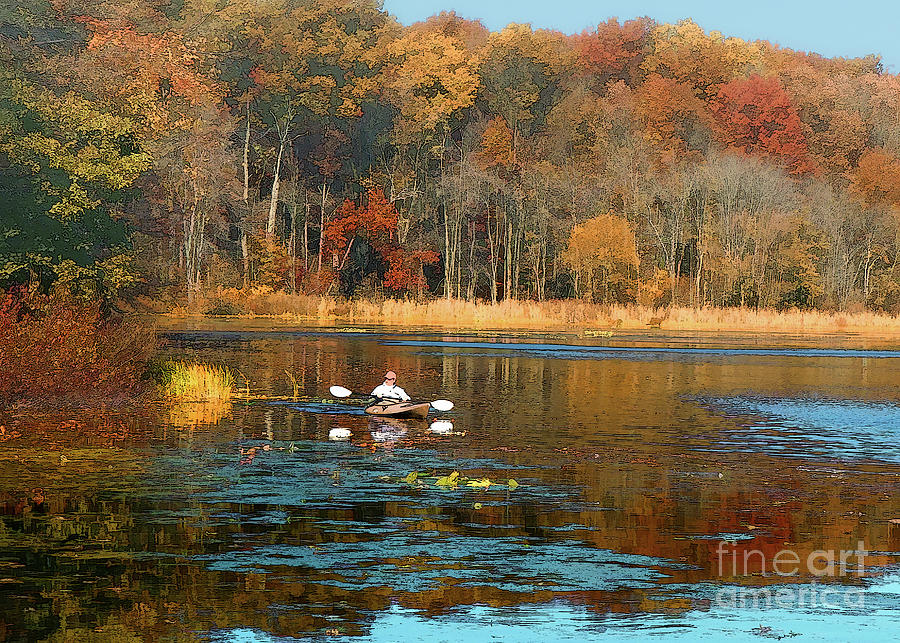 On Golden Pond by Geoff Crego