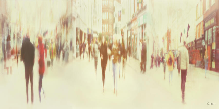 On Grafton Street by Norma Slack