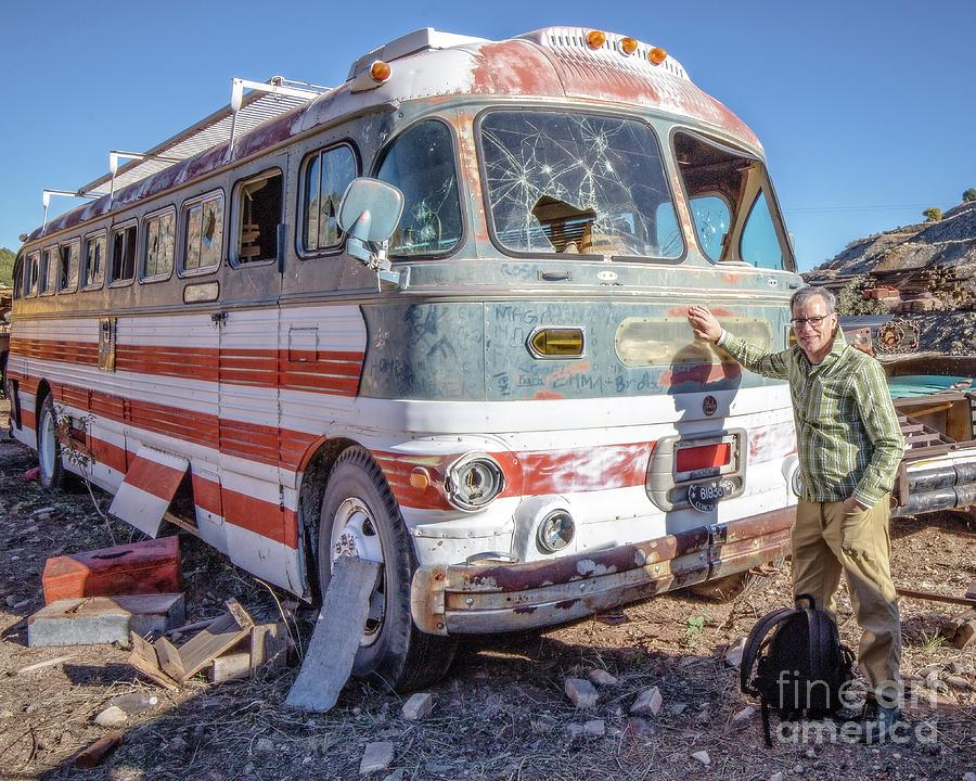 On Location Photographer Edward Fielding in Jerome Arizona by Wendy Fielding