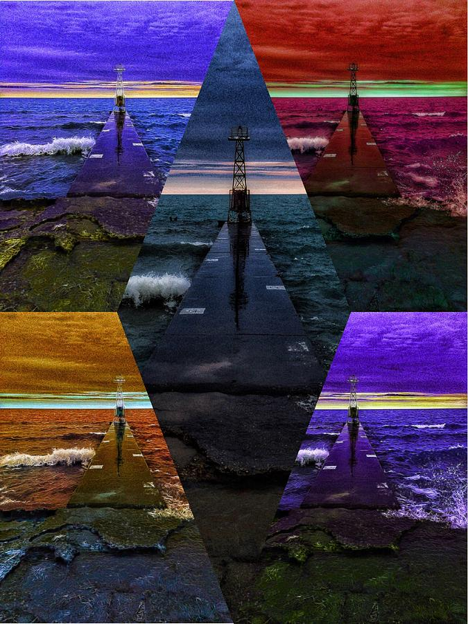 Lake Michigan Digital Art - On Point by Nick Heap