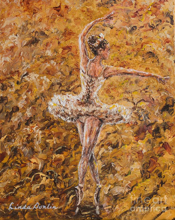 On Pointe #3 by Linda Donlin