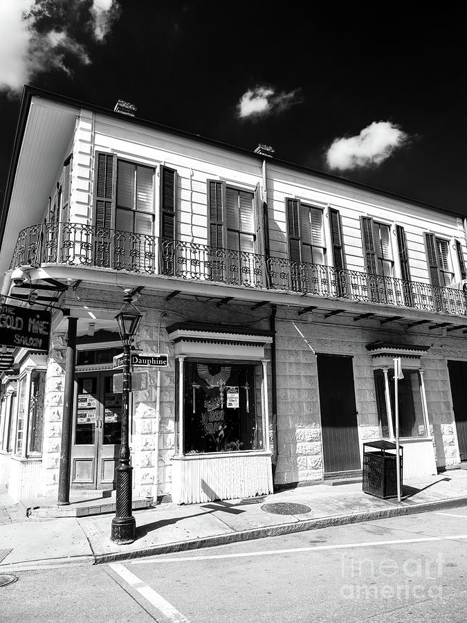 On Rue Dauphine in New Orleans by John Rizzuto