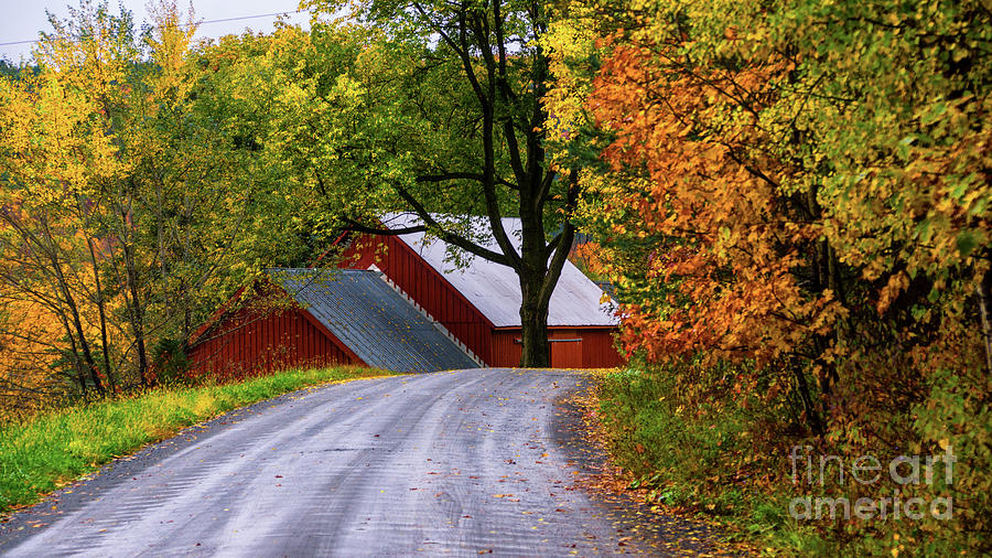 On the back roads of Berlin Vermont. by Scenic Vermont Photography