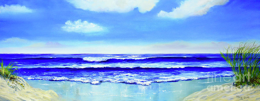 On The Beach by Mary Scott